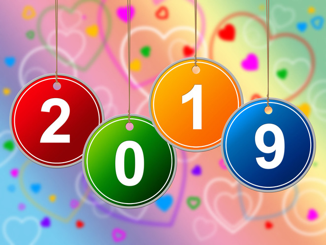 2019,new,year,newyears,numbers,hearts,colour,celebration