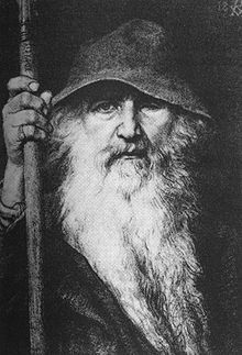 Odin the Wanderer (1896) by Georg von Rosen