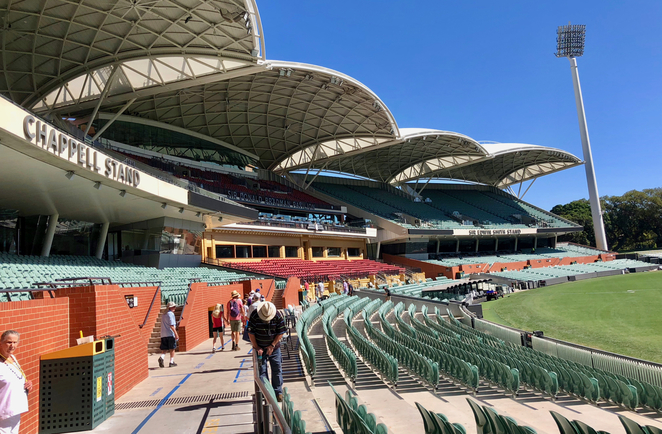 Adelaide, Adelaide Oval, sport, cricket, AFL, tour, behind the scenes, scoreboard