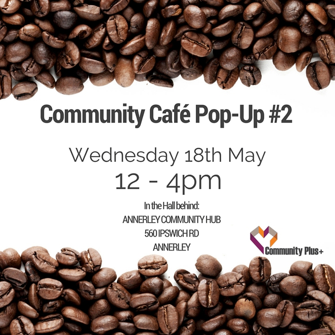 Annerley, Commmunity, Cafe, Popup, Pop Up, Culture, Donation, Charity