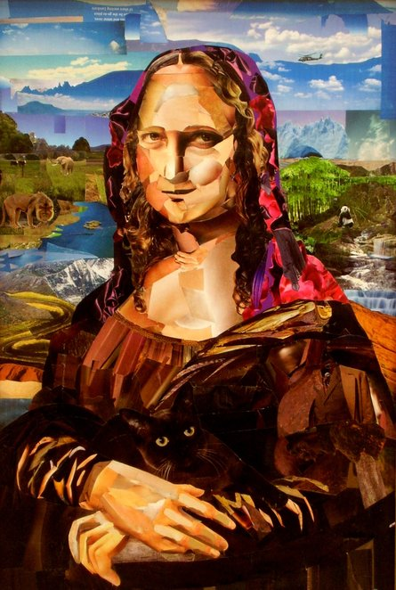 Another Mona Lisa - Nat King Cole missed this one - Photo supplied by AS