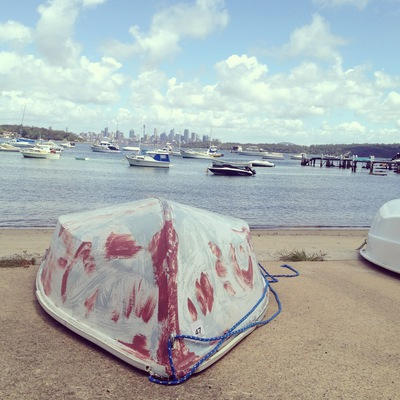 boat, beach, harbour, view, bay, sydney, watsons bay