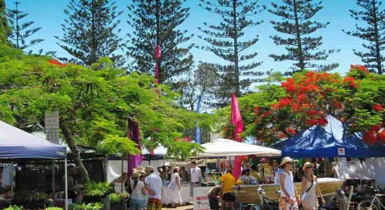 Brunswick Heads Markets photo courtesy of