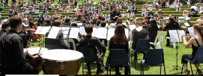 centennial park concerts, whats on centennial park, sydney youth orchestra