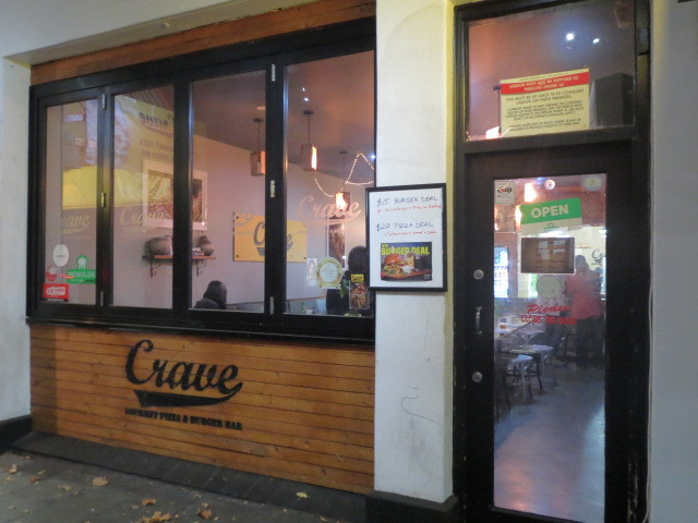 Crave Gourmet Pizza & Burger Bar, Adelaide