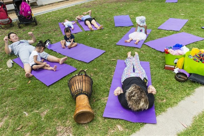 Darling Quarter Yoga for Kids, Yoga
