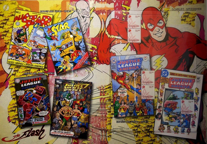 DC Comics Super Heroes at Singapore Philatelic Museum