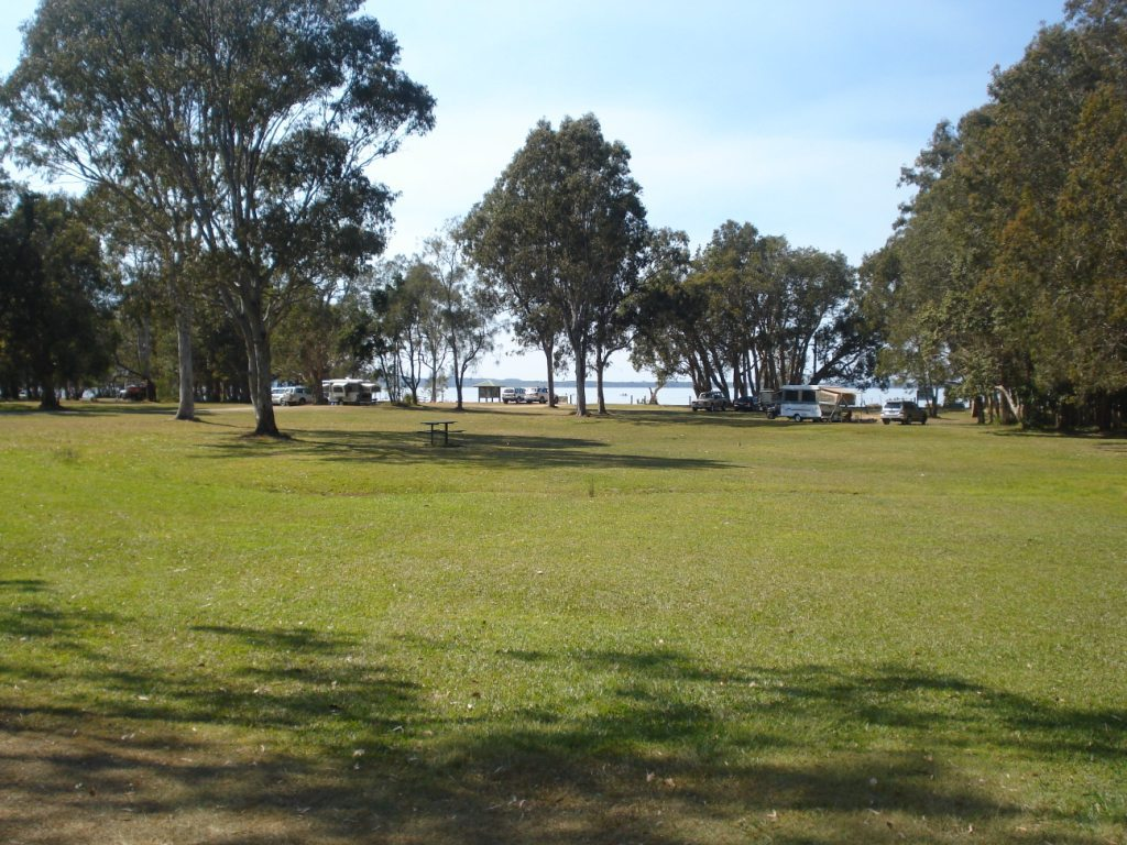 Elanda point campground great sandy national park brisbane for Camping grounds with cabins