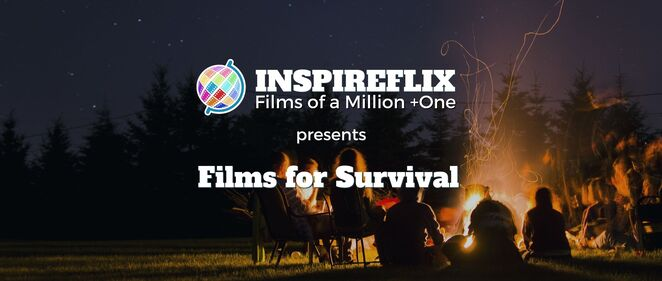 films for survival, inspireflix, films of a million plus one, movie night, cinema, documentaries every tuesday, speakers, charities, fundraiser, ngos, community groups, Art, Education, Entrepreneurship, Equality, Girls To The Front, Human Rights, Indigenous, Innovation, Leadership, Mental health, Personal Growth, Physical Health, Sport, Travel, Youth