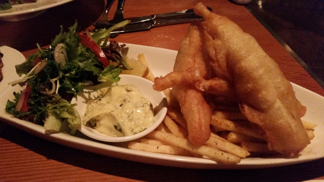 fish and chips, fries