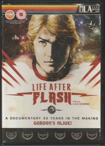 Flash Gordon, After Flash, DVD, cover, image, Sam Jones