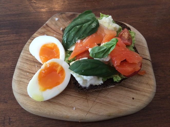 flowers, gertrude and mabel, cafe, coffee, cake, breakfast, brisbane, avocado, trout, eggs, brunch