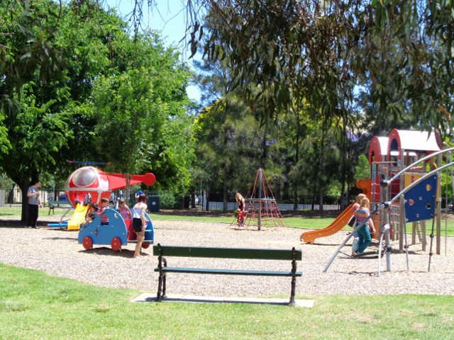 Glover Playground North Adelaide. Image by Out and About.