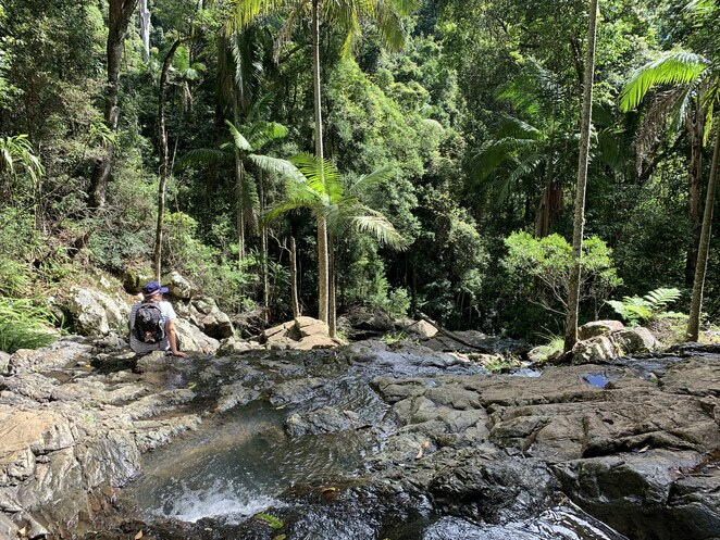 Greenes Falls Track, Maiala day use area, picnic, bbq's, D'Aguilar National Park