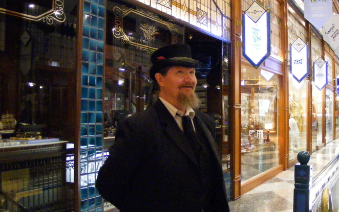 The historic Brisbane Arcade is a beautiful backdrop to a number of spooky stories