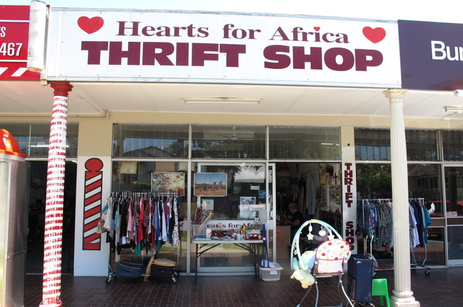 hearts of africa, africa, thrift shop, op shop, charity shop, secondhand, bargain, volunteer, sunnybank, tanzania