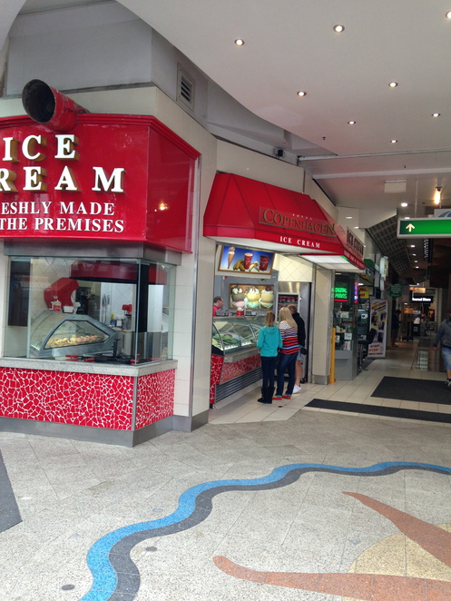ice cream gold coast, royal copenhagen surfers paradise