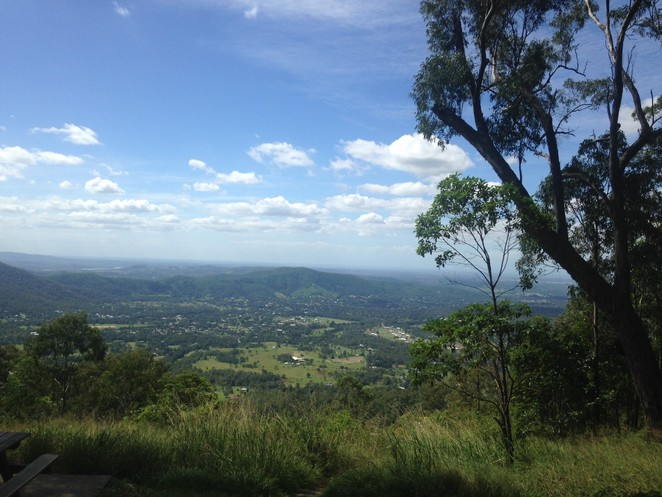 jolly's lookout view scenic moreton bay brisbane d'aguilar national park beautiful