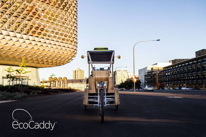 Last Friday in North Adelaide, Eco Caddy