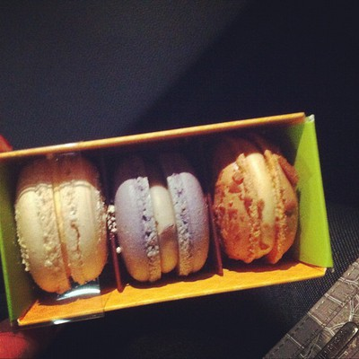 macarons, variety, colourful, delicious, three pack