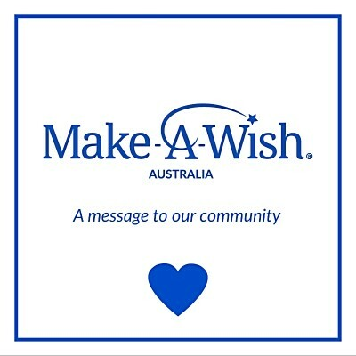 make a wish australia 2020, wishes are waiting 2020, donations, fundraiser, charity, covid-19, help during tough times, local heroes, the wish effect, the wish journey, for sick kids, children's medical treatment, research into childhood disease, activities