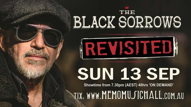 memo music hall live streams revisited, renee geyer mls encore online event, the black sorrows revisited online event, community events, fun things to do, music, bands, musicians, vocalists, joe camelerri, memo music hall online, music lovers, songs, lyrics