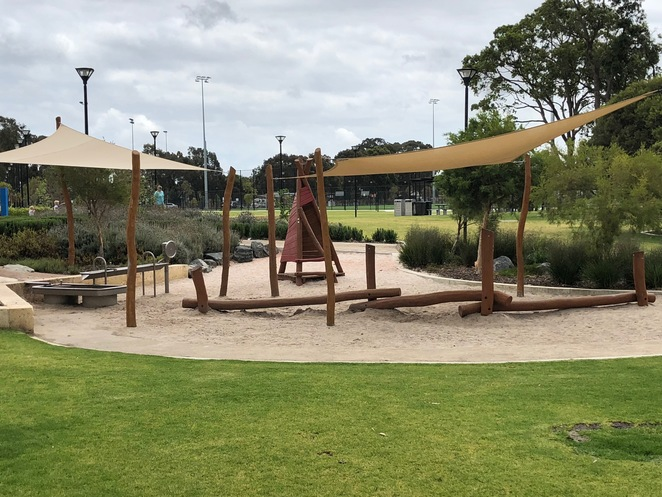 Mills Park Nature Play Space, Mills Park Beckenham, Parks in Gosnells, Nature Parks Perth, Nature parks South-East of Perth, Nature Play Perth