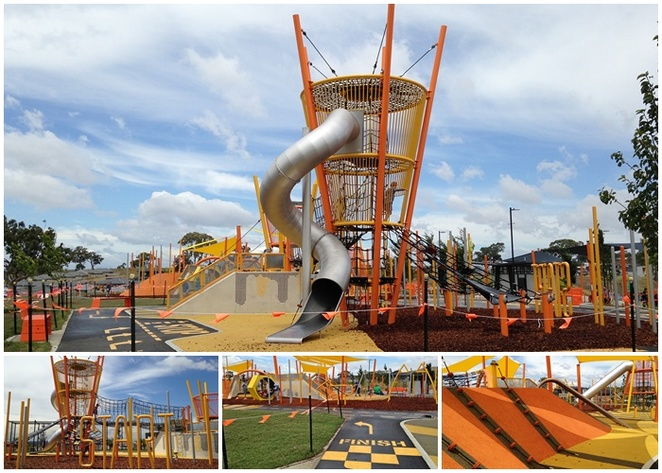 Moncrieff Community Recreation Park, moncrieff, playgrounds, canberra, best playgrounds in canberra, biggest playgrounds, ACT, gungahlin, kids, children,