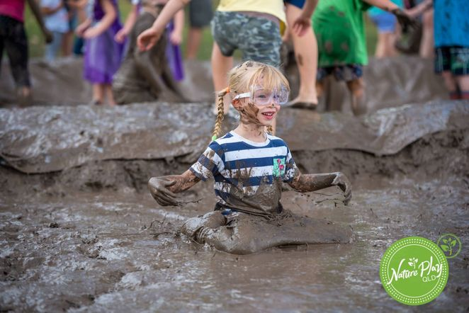 mud, muddy, play, festival, nature, Underwood, kids