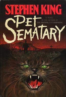 pet semetary, Stephen King, movie adaptations, movies, books, books being turned into movies 2019, horror, horror books