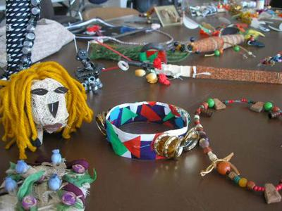 recycle, artwork, MFTA, materials for the Arts