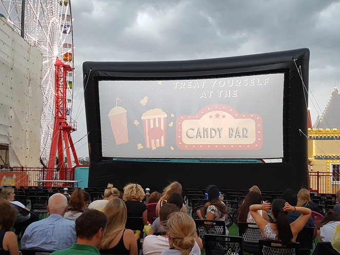 Rooftop Cinema, Rooftop Cinema Luna Park Sydney, Luna Park Sydney, Film Festival, Outdoor Movies, Milsons Point, Sydney Harbour, Things to Do This Easter, Autumn, I Tonya, The Post, 80s movies, New Release, Family Activities