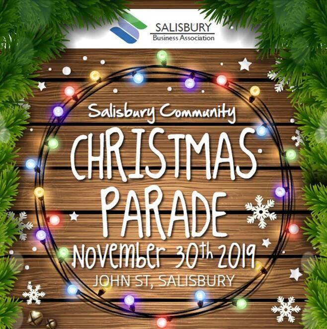 Salisbury community Christmas parade, face painting, balloon animals, food trucks, market stalls, Christmas, clowns, displays, amusements, rides, Salisbury community hub opening