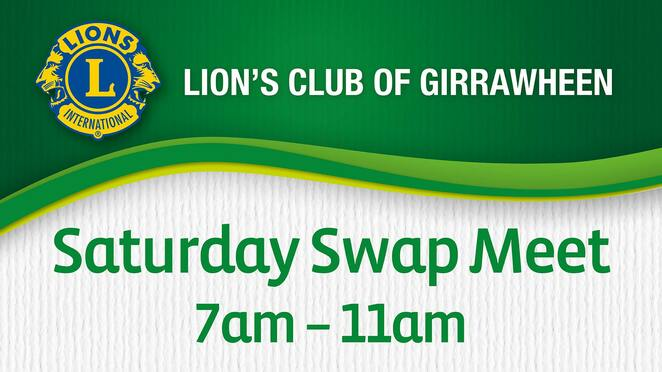 saturday swap meet 2021, lions club of girrawheen, community event, fun things to do, recycling, upcycling, shopping, secondhand goods, newpark shopping centre, community event, fun things to do, sustainability, environmentally friendly