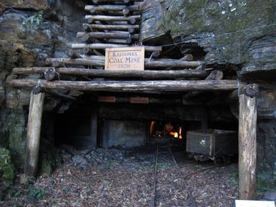 Scenic World, Coal mine, Katoomba