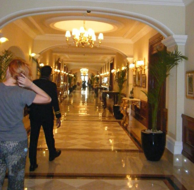 The halls of the Imperial Hotel, Delhi