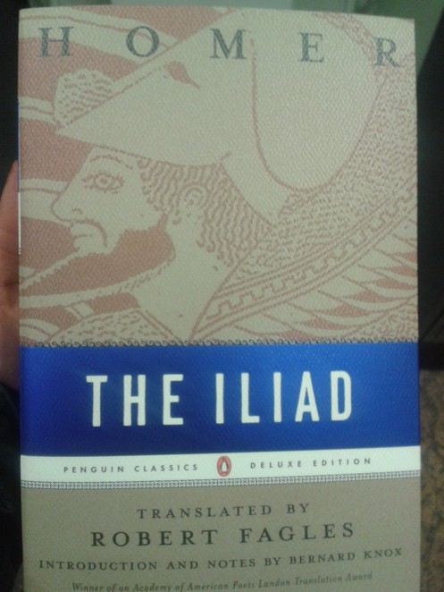a review of the book the iliad The iliad by homer, part of the internet classics archive.