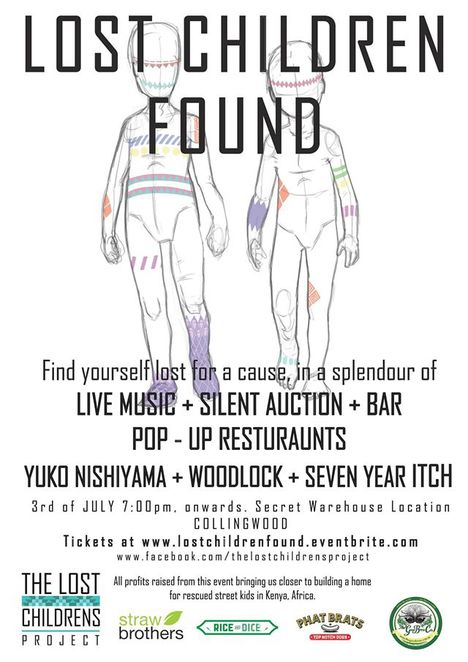 The Lost Childrens Project - Lost Children Found Event