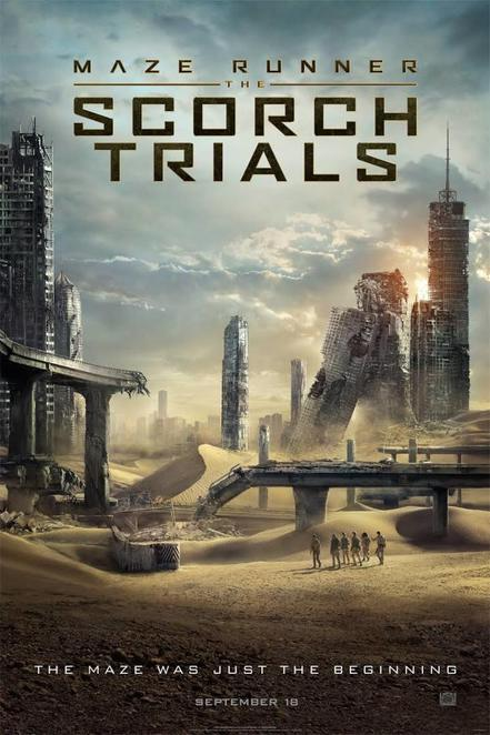 the maze runner, the scorch trails, cinema