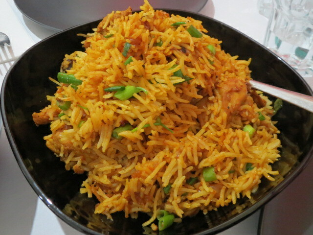 The Spice Route, Chicken Biryani, Adelaide