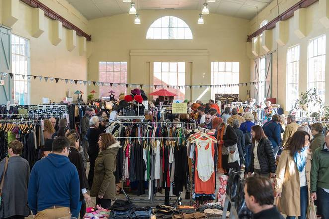 Three Sixty Markets, Canberra, Fitters Workshop, vintage, retro, 2nd hand clothes, second hand clothes, markets in canberra