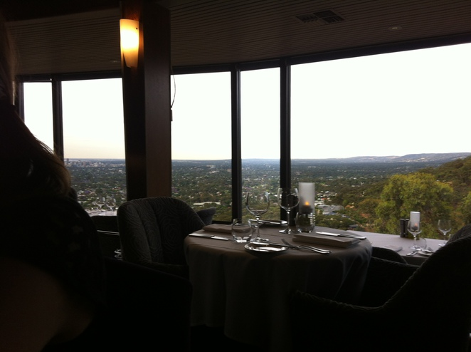 View from Windy Point Restaurant