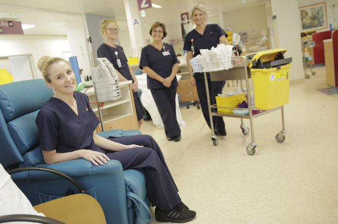 Westmead Hospital chemotherapy chairs