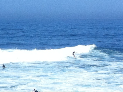 Windansea surfing La Jolla