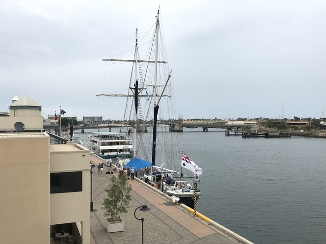 Young Endeavour Sailing Ship in Port Adelaide