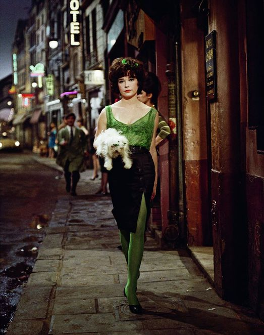 Pictured: Shirley MacLaine in IRMA LA DOUCE (1963) - Costumes by Orry-Kelly.
