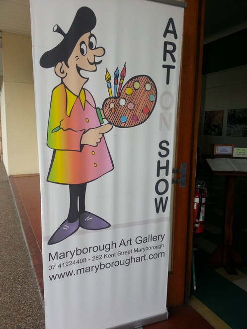 Art Exhibition, Art Galleries, Maryborough Qld