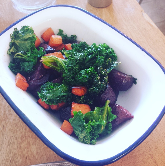 Beets and sweets Brunch East London Hash E8