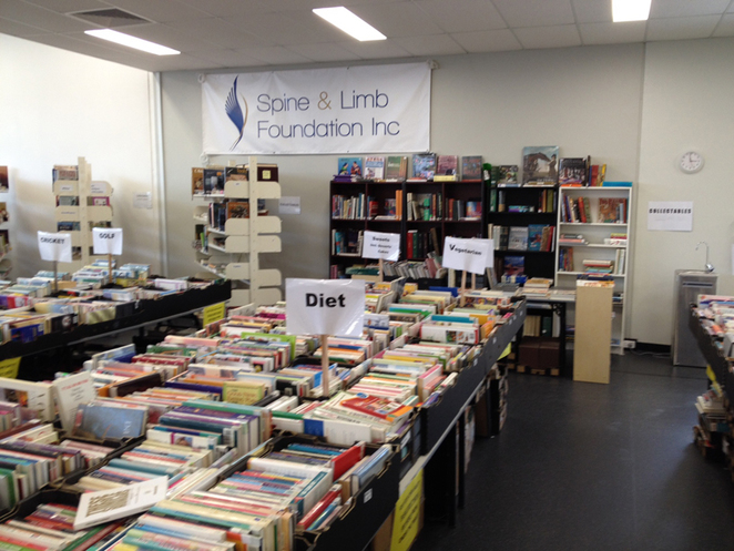 Books galore at Spine and Limb Foundation Book Bazaar