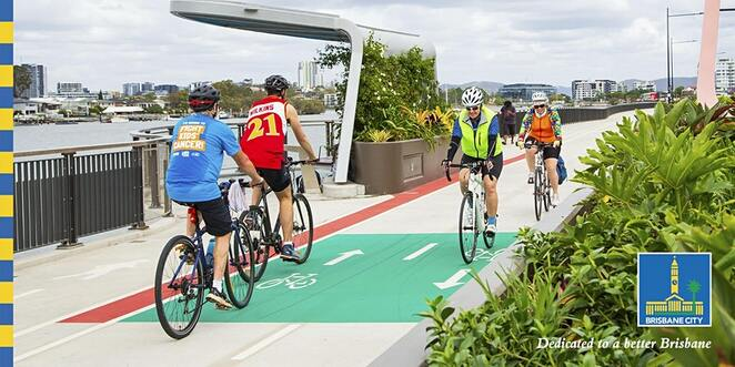 Brisbane City, Cycling, Health & Fitness, Fun Things to Do, Free, Family, Outdoors